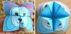 willowday: Kid's Dog Printable (Origami)