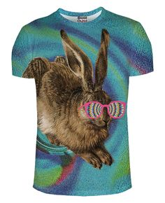 Trippy bunny - so cute and so edgy!