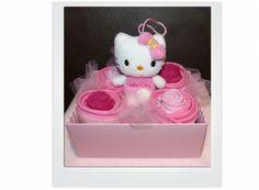 Boîteàcupcake Hello Kitty | Béa l'a Fée Cupcakes, Hello Kitty, Christmas Ornaments, Holiday Decor, Home Decor, Cupcake Cakes, Decoration Home, Room Decor, Christmas Jewelry