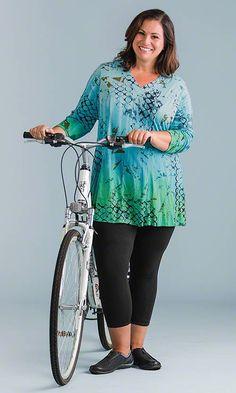 Cayman Tunic / MiB Plus Size Fashion for Women / Spring Fashion http://www.makingitbig.com/product/5125