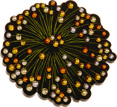 Happy Diwali, everyone! Our rather appropriate #TBT today is the Firework Brooch from our Autumn Winter 2010 collection.