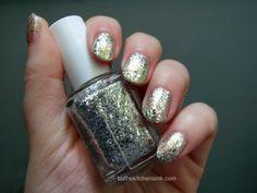 Essie Hors d'oeuvres #essie #nailpolish #silverandgold