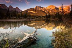 Photographie du jour #443 : Canmore Sunrise