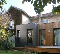 M2 et Compagnie - Pierre Labourdette - architecture bois - wood house - extension - Chatou - 2012