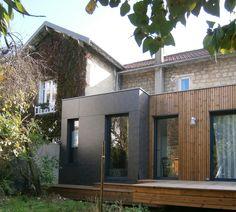Awesome M2 Et Compagnie   Pierre Labourdette   Architecture Bois   Wood House    Extension   Chatou