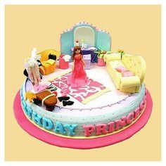 Dressing room cake