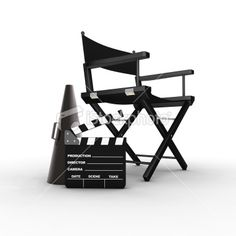 directors chair on set