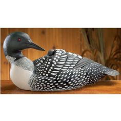 Image detail for -Reproduction Duck Decoys - Wood Carvings & Sculptures - Loon Decor