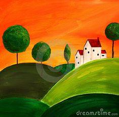 Tuscan art 3 by Tyback, via Dreamstime