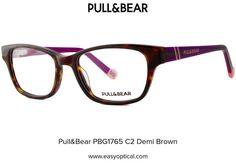 Pull&Bear PBG1765 C2 Demi Brown Pull, Eyewear, Bear, Eyes, Glasses, Brown, Style, Swag, Eyeglasses
