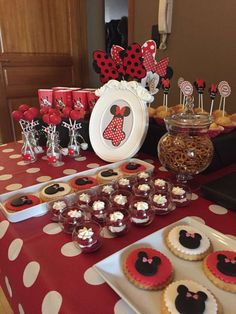 Minnie Mouse Birthday Party Ideas | Photo 5 of 14