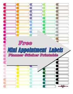 @planner.PICKETT: FREE Meeting Appointment Boxes Planner Sticker Printable