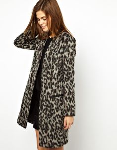 Leopard Coat by: French Connection