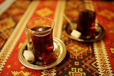 Mint Moroccan Tea with Sugar