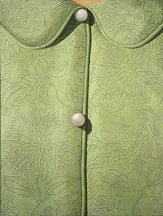 Domenico GNOLI (1933-1970)    Camicia Verde, 1967