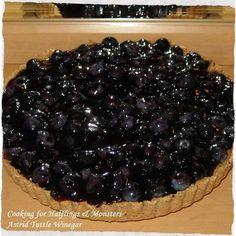 Yummy blueberry almond tart! #MiddleEarth #comfortfood #Hobbit #fridaypieday