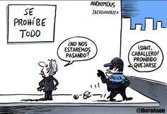 Ley Mordaza en imágenes y en 10 palabras. Más imágenes en nuestra cuenta http://instagram.com/anonibero #Anonymous #Iberoamerica #AnonIbero #LeyMordaza
