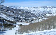 Beaver Creek, Colorado - View back to Beaver Creek and Avon Wallpaper #1 1280 x 800