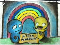 Rainbow Pon and Zi