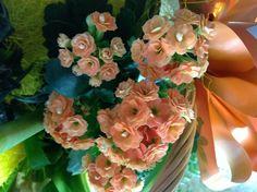 Florecillas en centro floral