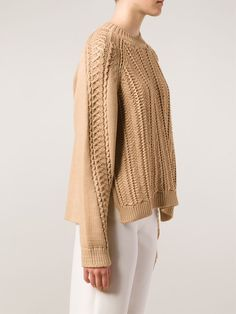 3.1 Phillip Lim Cable Pullover Sweater - Beckley - Farfetch.com