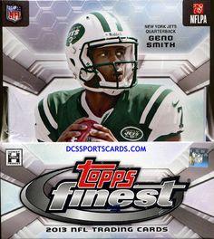 2013 Topps Finest Football Cards Hobby Box - New! $94.95