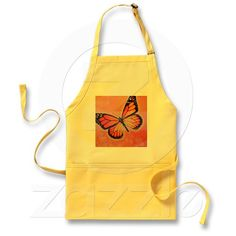 Cheery butterfly apron!  I could use a touch of summer right now.