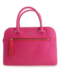 Sweetheart Pink Chester Street Kalen Leather Tote