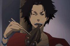 "To quote the vernacular: ""Name name"" – Samurai Champloo Michiko & Hatchin, Hiromu Arakawa, Rurouni Kenshin, Anime Furry, Drawing Reference Poses, Animes Wallpapers, Moving Pictures, I Love Anime, Furry Art"