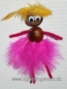 prinsesser fra min blog: http://agnesingersen.dk/blog/prinsesser/ Chestnut Kastanie