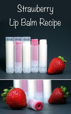 Fun Homemade Craft Inspiration to Sell | DIY Lip Balm by DIY Ready at http://diyready.com/25-easy-crafts-to-make-and-sell/: