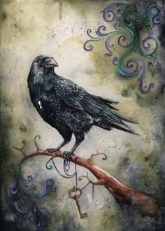 Of Corvids and Keyholes by bcduncan on DeviantArt