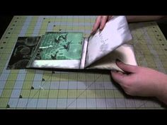 "Hi, everyone! I have received a lot of requests to do a tutorial for YouTube of the Waterfall Flip Book in the ""Love the Fall"" album, so here ya go! :D This one is from my Graphic 45 ""Steampunk Debutante"" album. I hope you enjoy it!    To see the completed album, click here: http://www.youtube.com/watch?v=YcaWKZ7eC7M    It is an 8""x8"" chipboard ..."