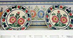 Quimper Pottery, Motifs, Plates, Ceramics, Tableware, Inspiration, Pottery Plates, Porcelain, Painters