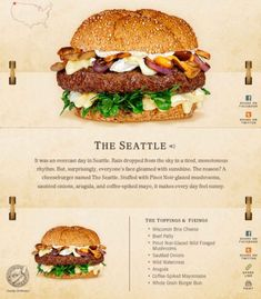 40 Of The Most Delicious-Looking Cheese Burger Combinations Ever - UltraLinx Burger Menu, Gourmet Burgers, Burger Bar, Good Burger, Cheese Burger, Burger Ideas, Pork Burgers, Junk Food, Burger Seasoning