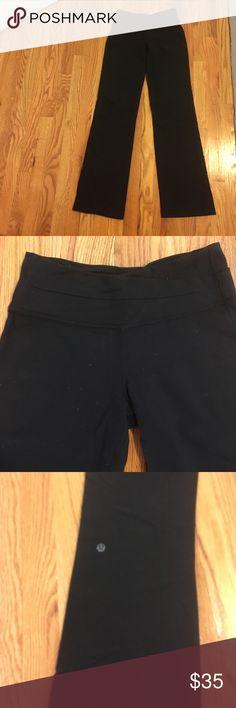 Lululemon spandex pant Slight flare at bottom. lululemon athletica Pants Track Pants & Joggers