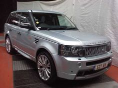 2007 Range Rover Sport 2.7 TDV6 HSE 5-door auto estate with HST body kit. Silver. Service history.