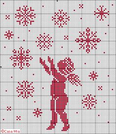 Casamia in Italia - Cross Stitch Pattern Cross Stitch Freebies, Cross Stitch Charts, Cross Stitch Designs, Cross Stitch Patterns, Stitch And Angel, Cross Stitch Angels, Cross Stitching, Cross Stitch Embroidery, Small Cross Stitch