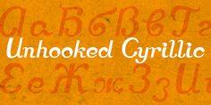 Unhooked Cyrillic™ - Webfont & Desktop font « MyFonts