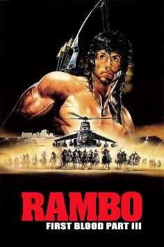 Watch Rambo 3 Online For Free. Colonel Trautman is captured by Soviets during a mission in Afghanistan and Rambo sets out to rescue him while taking on the invading Russian forces. Film Movie, 80s Movies, Action Movies, Great Movies, Movies To Watch, Cult Movies, Film Rambo, Rambo 3, John Rambo