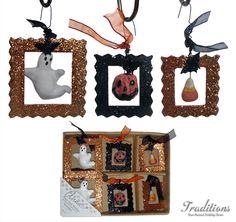 More halloween ornaments