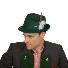 Oktoberfest Green Fedora Party Hat