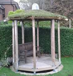 I love a green roof and I love this!