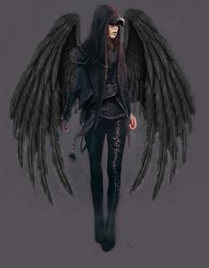 Goth Angel by mplumb