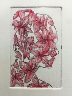 Abbie Richardson - Goblin Market - Drypoint. Class Of 2018, Goblin, Painting, Art, Art Background, Painting Art, Kunst, Paintings, Performing Arts