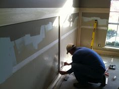 Commona My House: House Tour: DIY Wainscoting with Heather & Brad