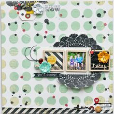 #papercraft #scrapbook #layout    Paper Fab: Wrapping Up September