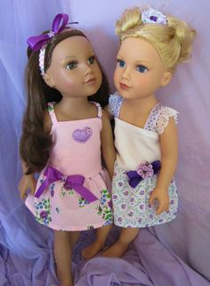 American Girl Doll Clothes 18 inch Dolls by HauteDesignsByNorine, $19.50