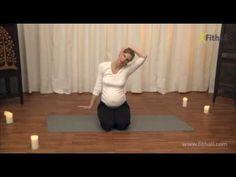 (15) Relaxačná joga pre tehotné - YouTube