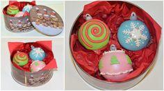Beautiful Christmas chocolate cupcakes